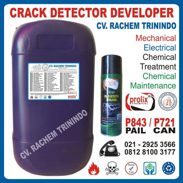 Jual Crack Detector Develover   Kimia Mengangkat Kotoran Pada Logam