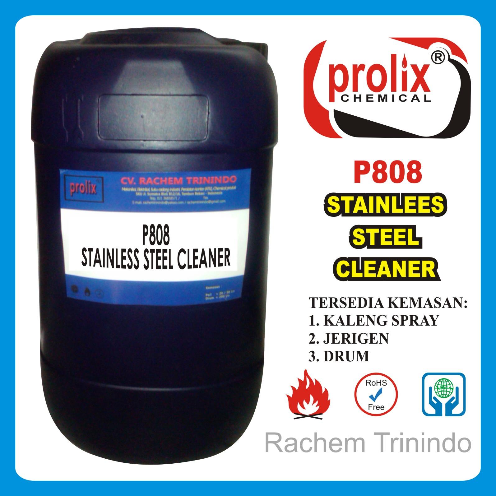 Jual stainless steel cleaner,kimia pembersih bekas las dan karat.