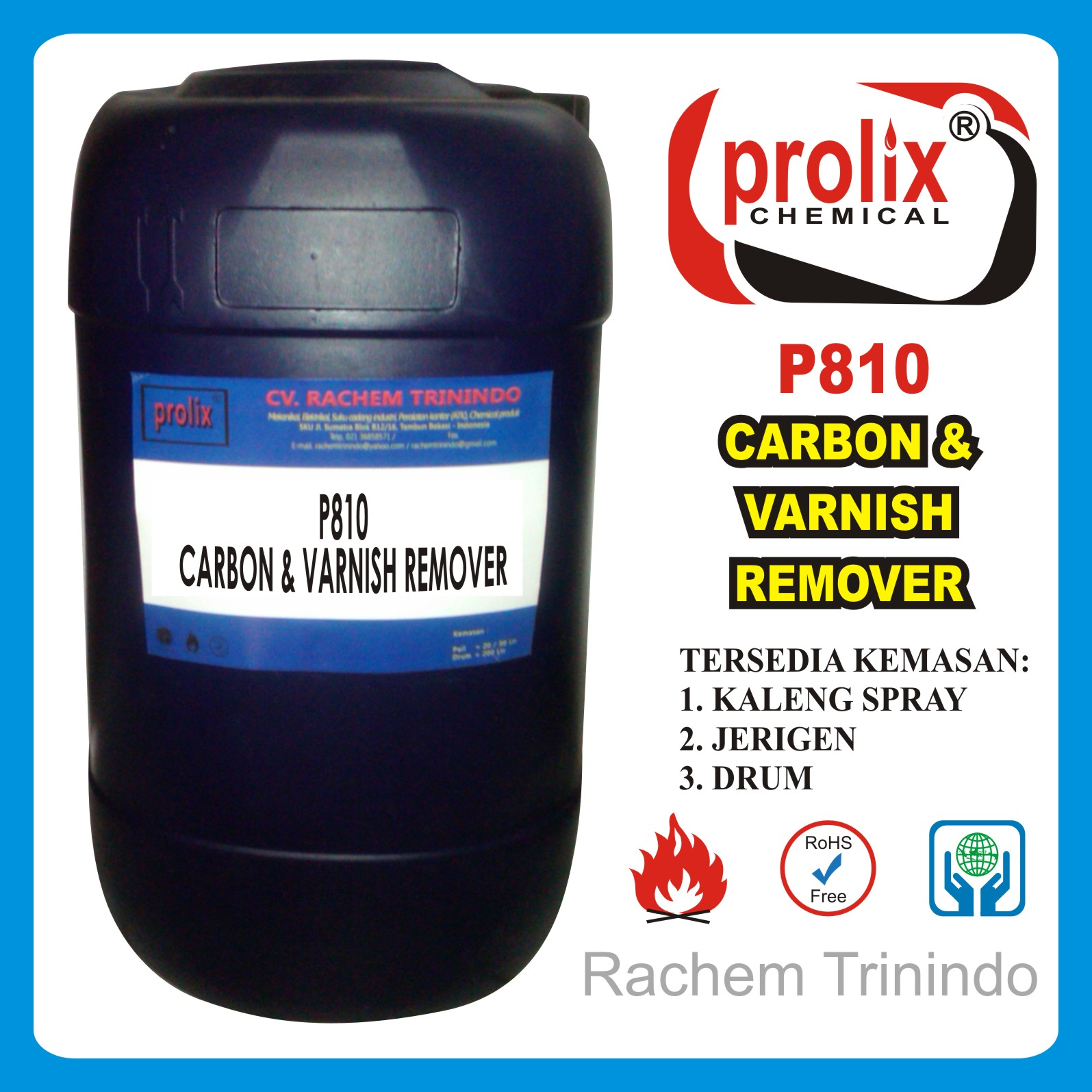 Jual  Carbon And Varnish Remover | Mengilangkan Kerak Carbon Varnish.
