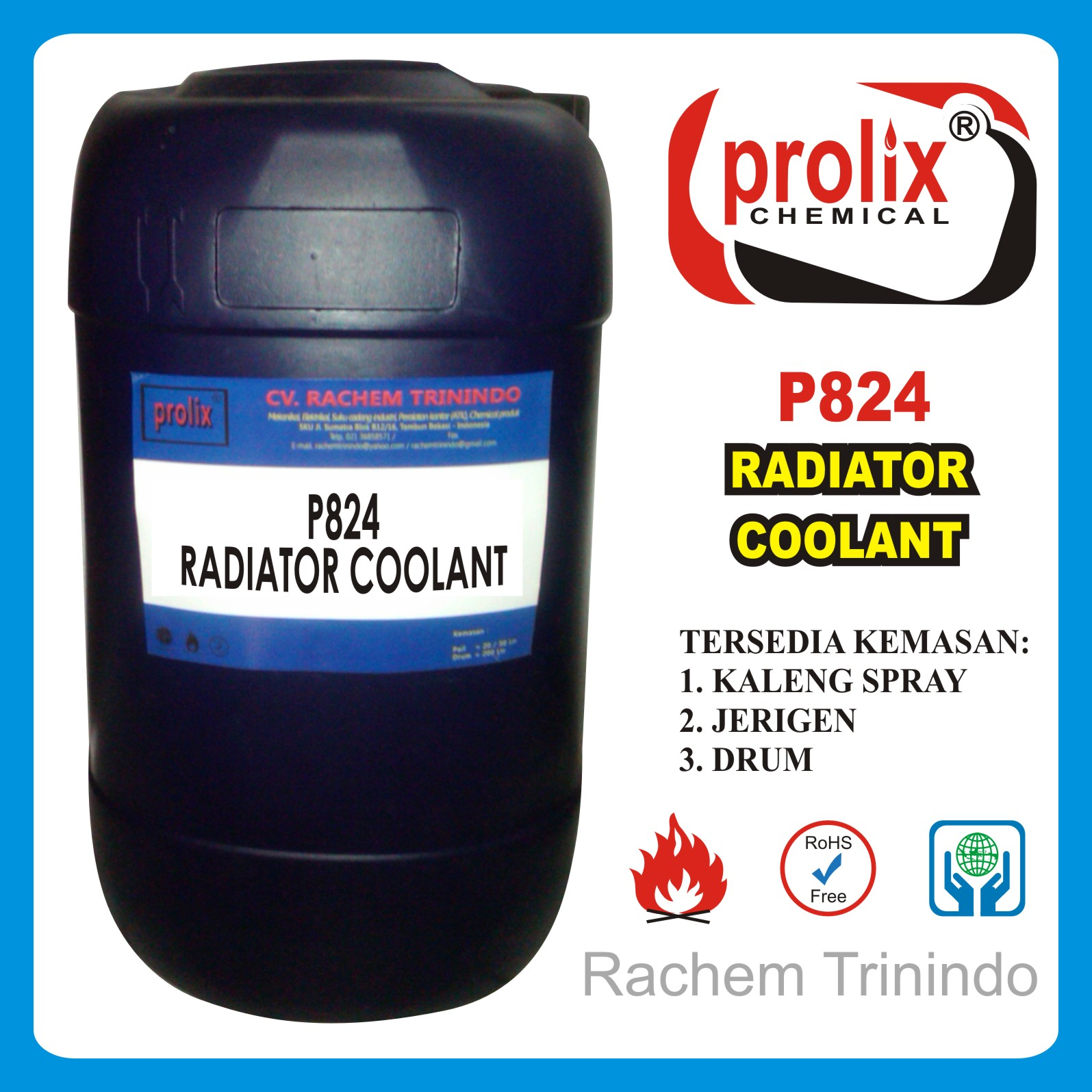 Jual  Radiator Coolant Pendingin Radiator