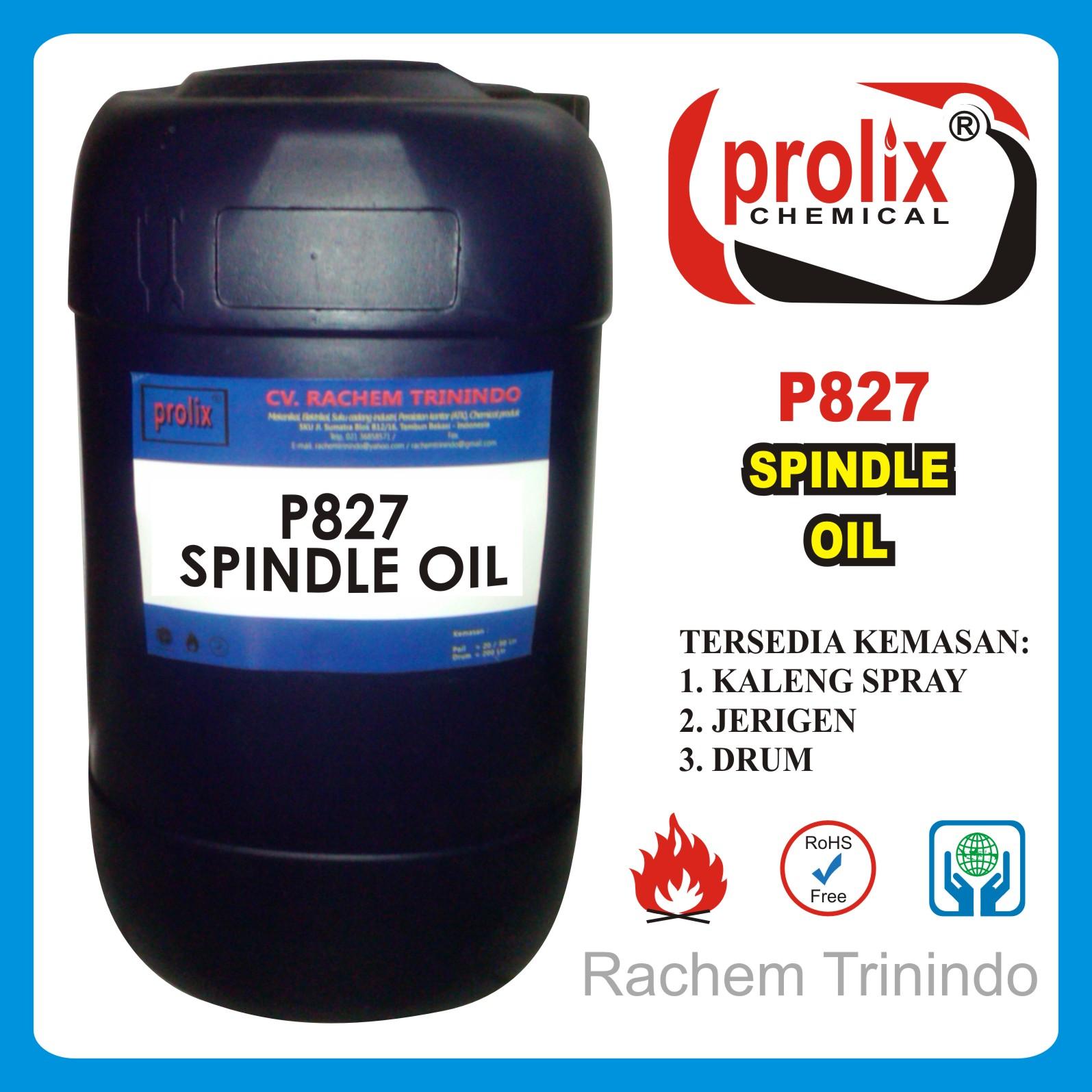 Jual Spindle Oil Pembersih Kotoran Mesin.