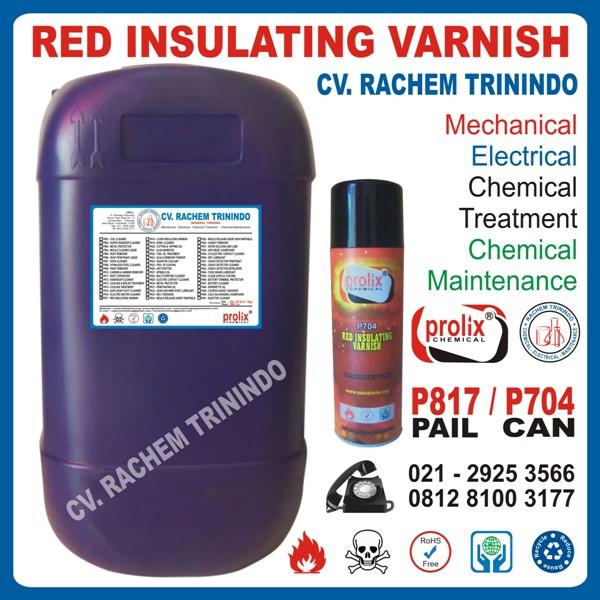 Jual Red  Insulating Varnish Pelindung Kawat Email Dynamo.