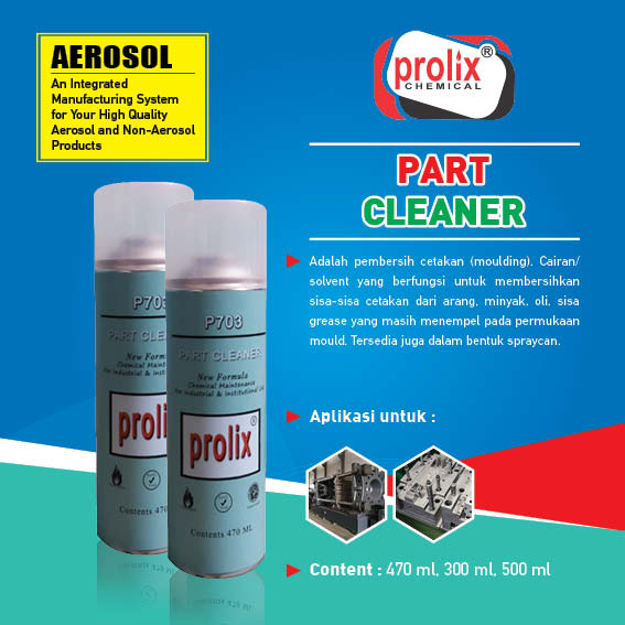 Mould Cleaner / Mold Cleaner / Parts Cleaner