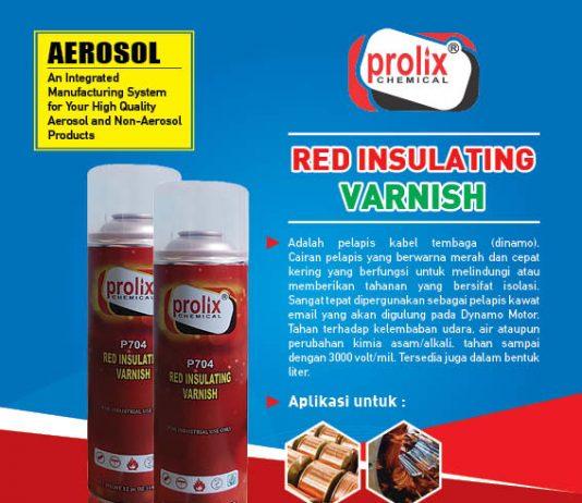Red Insulating Varnish