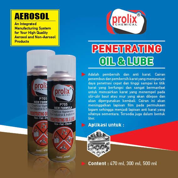 Penetrating Oil– membuka mur dan baut yang berkarat.